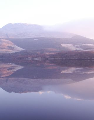 Loch etive dec 08 reflection